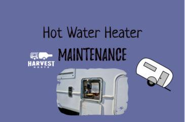RV Water Heater Maintenance