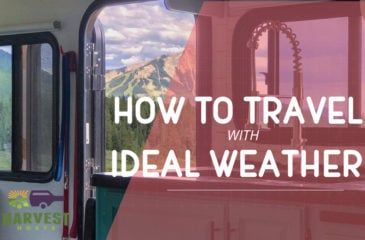 How to Travel with Ideal Weather