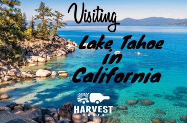 Visiting Lake Tahoe in California