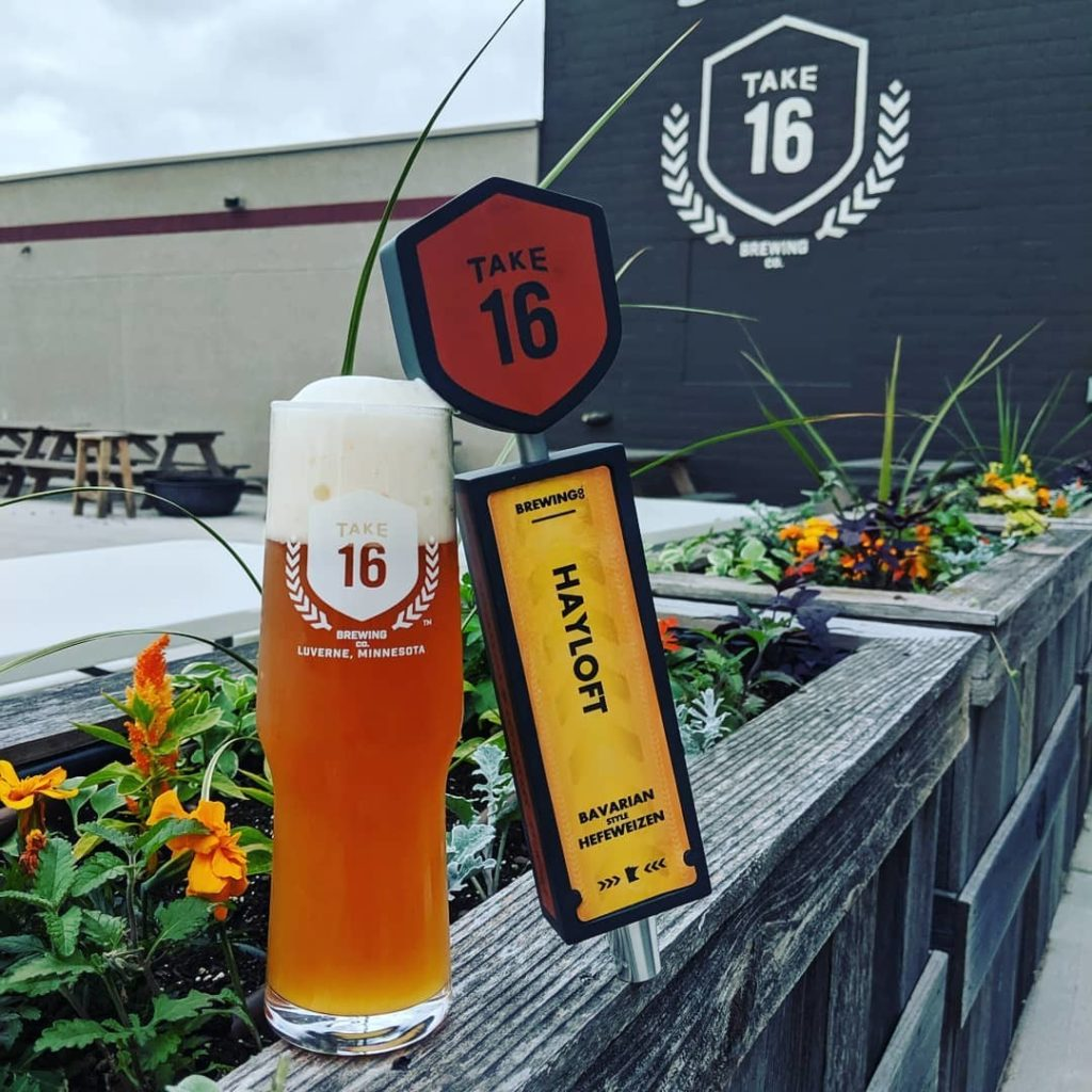 Take 16 Brewing Company is an awesome Harvest Hosts brewery location.