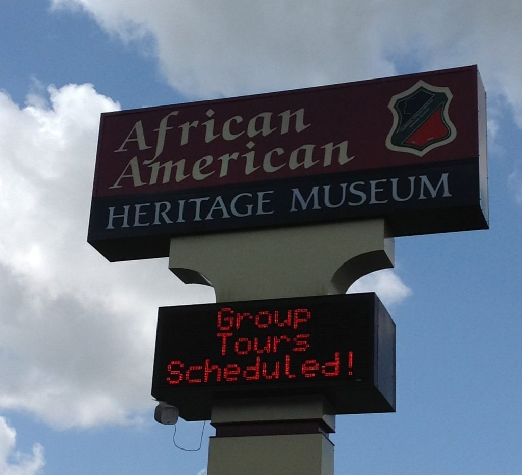 Th African American Heritage Museum of Louisiana focuses on the history and culture of African Americans of Louisiana.