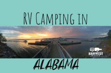 RV Camping in Alabama