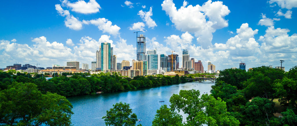 Beautiful views of Austin Texas show it to be a great place for winter snowbirds.