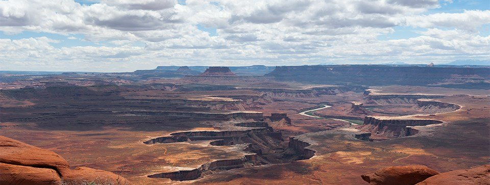 Canyonlands is one of the most beautiful national parks.