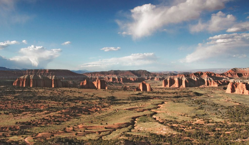 Capitol Reef National Park is one of the Utah Mighty Five.