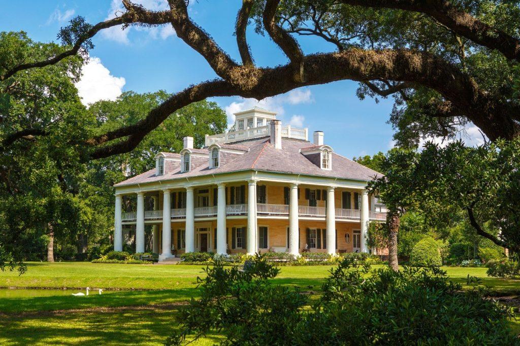 Houmas House and Gardens is found in Darrow, Louisiana.