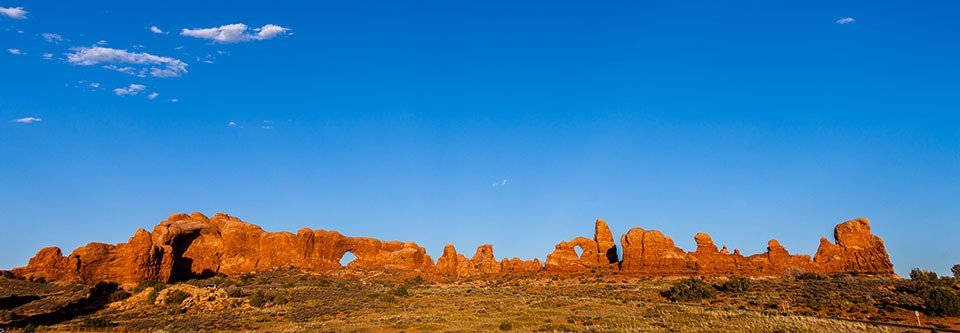 Arches National Park is one of the Utah Mighty Five parks.