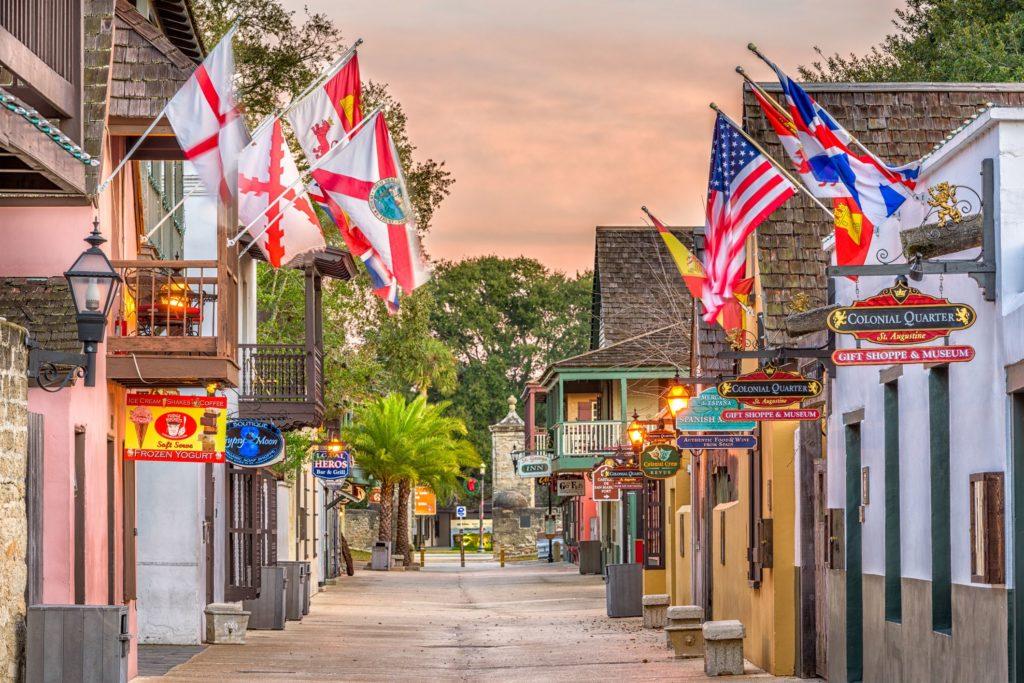 St. Augustine, Florida is an excellent winter snowbird destination.
