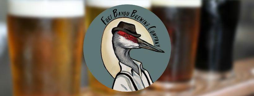 fort bayou brewing company logo Mississippi