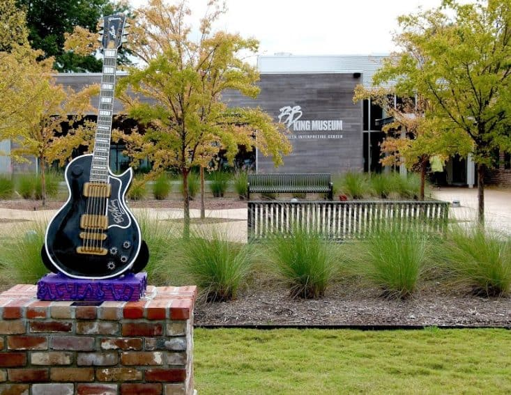outside view of BB King museum