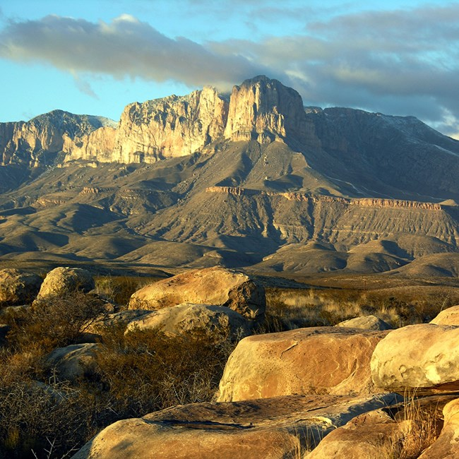 Guadalupe Mountains National Park is found in Texas.