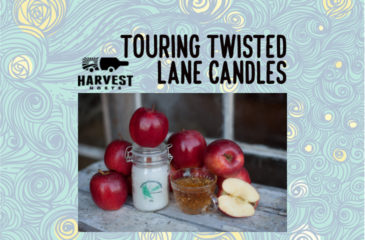 Touring Twisted Lane Candles
