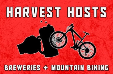 Living a Stout Life Pairs Harvest Hosts Breweries with Mountain Biking Trails