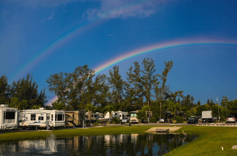 Buttonwood Inlet RV Park Sugar Sand RV Resort is an excellent Florida beachfront campground.