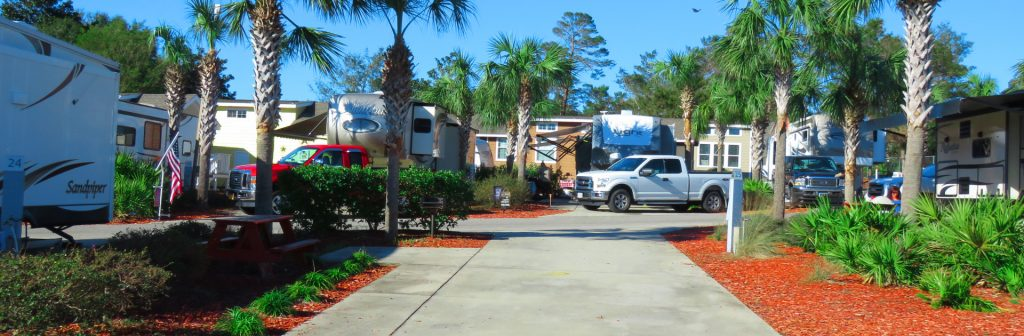 Carrabelle Beach RV Resort is stunning beachfront RV campground in sunny Florida.