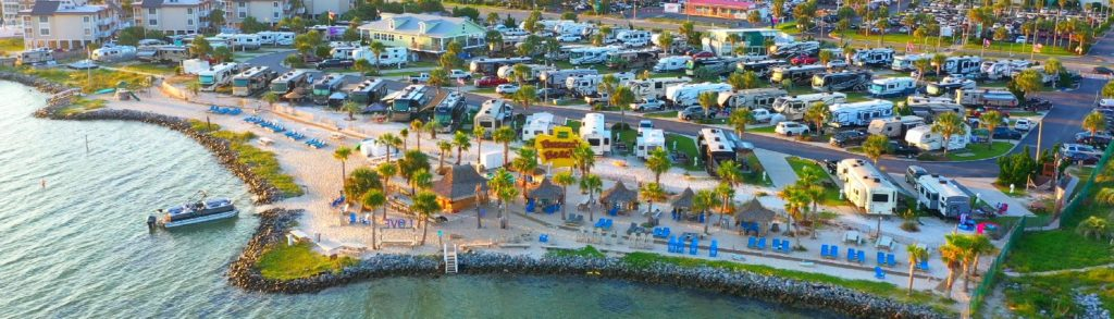 Pensacola Beach RV Resort is stunning beachfront RV campground in sunny Florida.