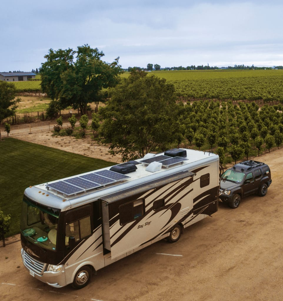 Adding solar to your RV is an awesome way to to save money on the road while making boondocking much easier.