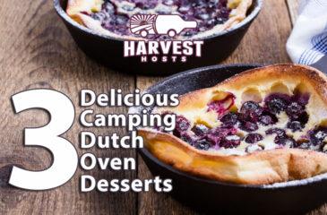 3 Delicious Camping Dutch Oven Desserts