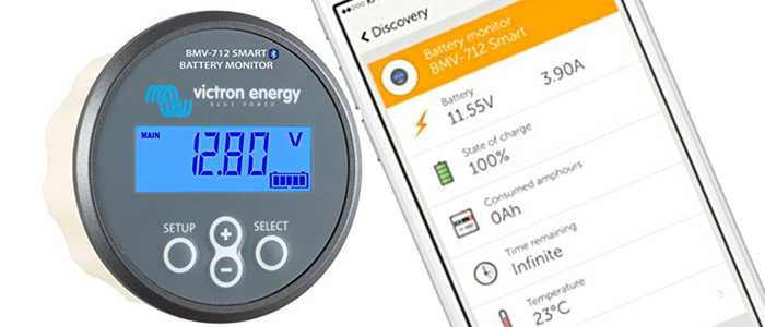 A battery monitor can be useful for determining how much output your solar set-up will require.