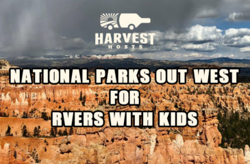 National Parks Out West for RVers with Kids