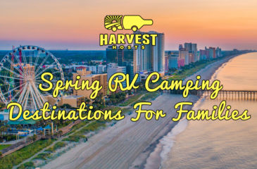 Spring RV Camping Destinations For Families