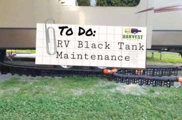 RV Black Tank Maintenance