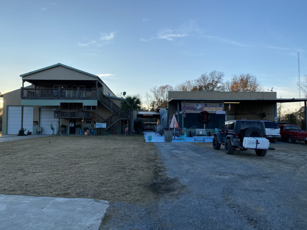Cartersville Country Winery in South Carolina is an excellent Harvest Hosts location.