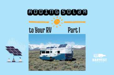 Adding Solar to your RV – Part I
