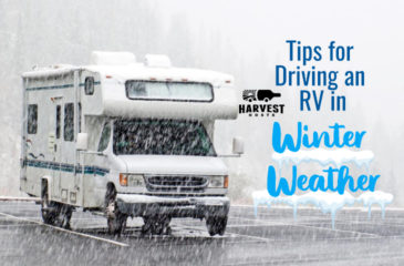 Tips for Driving your RV in Winter Conditions