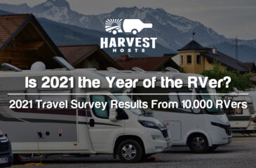Is 2021 the Year of the RVer? 2021 Travel Trends Survey Results From 10,000 RVers