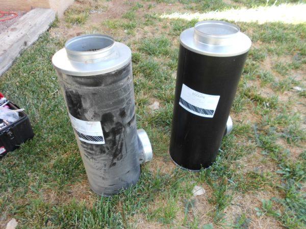 dirty versus clean air filter for a diesel rv