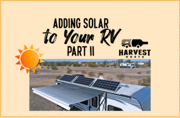 Adding Solar to your RV – Part II