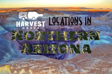 Harvest Hosts Locations in Northern Arizona