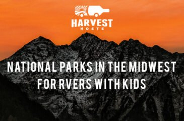 National Parks in the Midwest for RVers with Kids