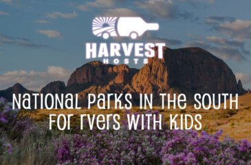 National Parks in the South for RVers with Kids