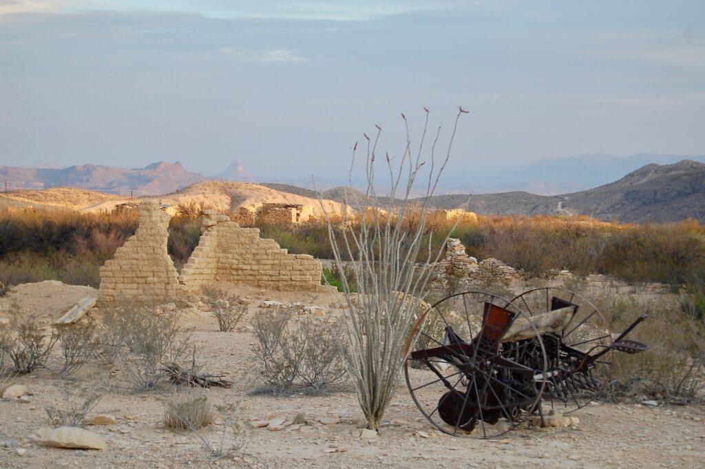 scenic desert of west texas