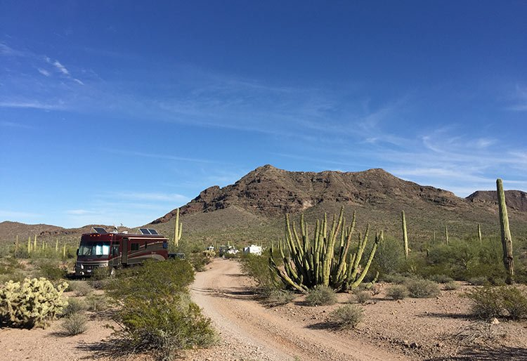 Boondocking is a great way to ditch the campgrounds and enjoy peace and solitude.