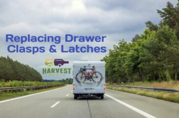 Replacing RV Drawer Clasps & Latches