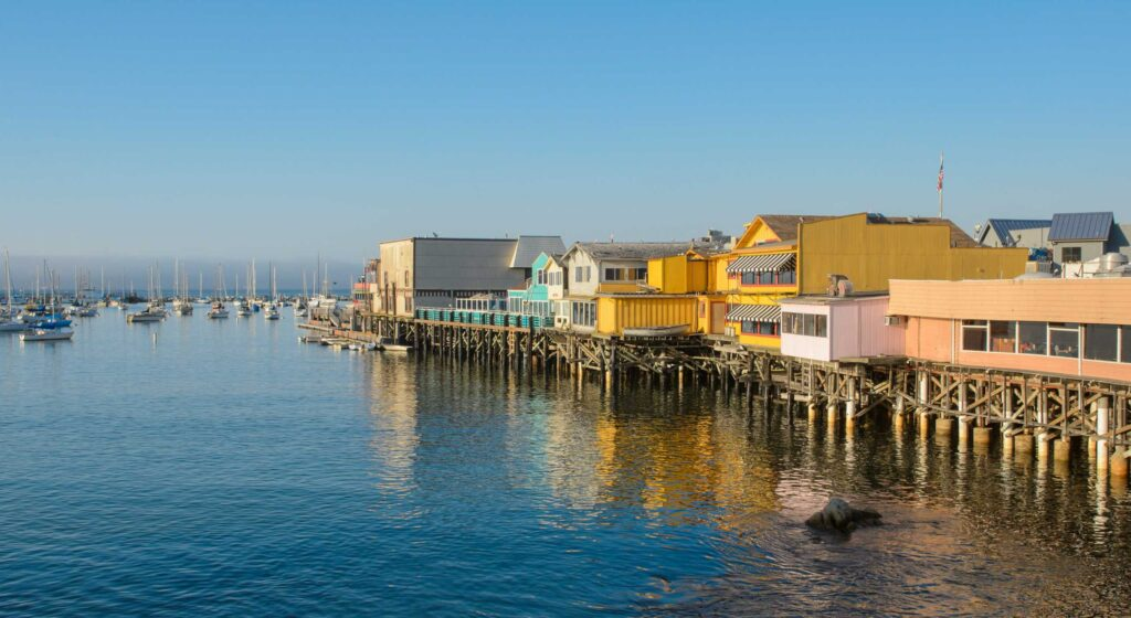 Monterey is one of the most beautiful towns along the Central California coast.