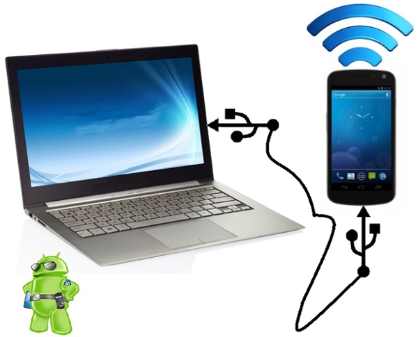 Mobile tethering is a great way to receive Internet on the road.