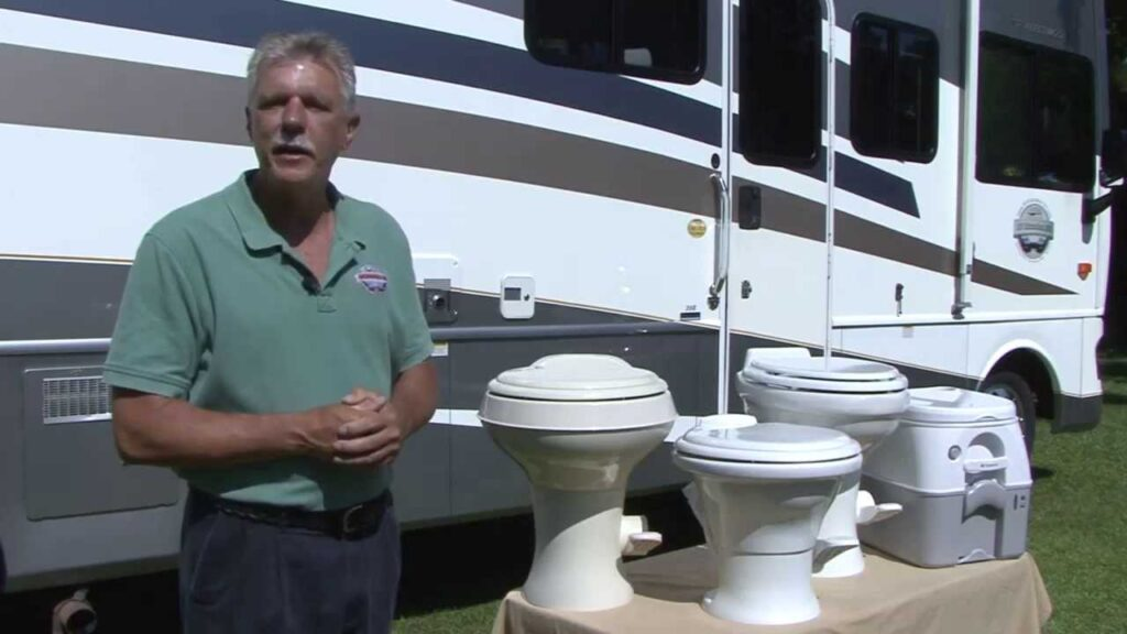 There are many types of RV toilets on the market, so choosing the correct one is important.