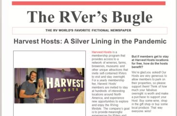 Harvest Hosts: A Silver Lining in the Pandemic