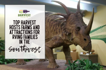Top Harvest Hosts Farms and Attractions for RVing Families in the Southwest