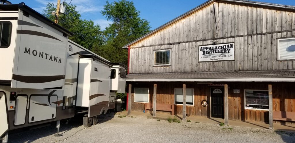 Appalachian Distillery is just one of our incredible Harvest Hosts locations.