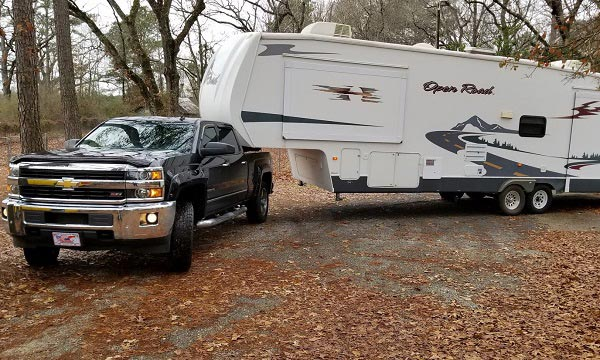 Be sure to pack up your RV exterior during all pre-trip inspections.