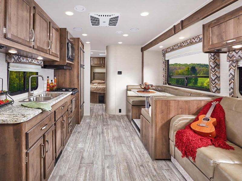 Be sure to pack up your RV's interior properly before hitting the road.