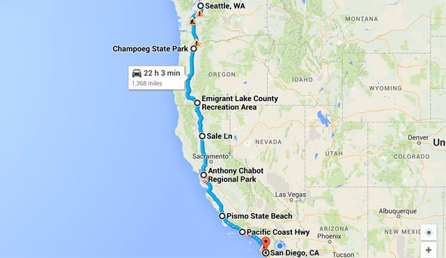 Selecting an itinerary is essential to the success of planning an RV trip.