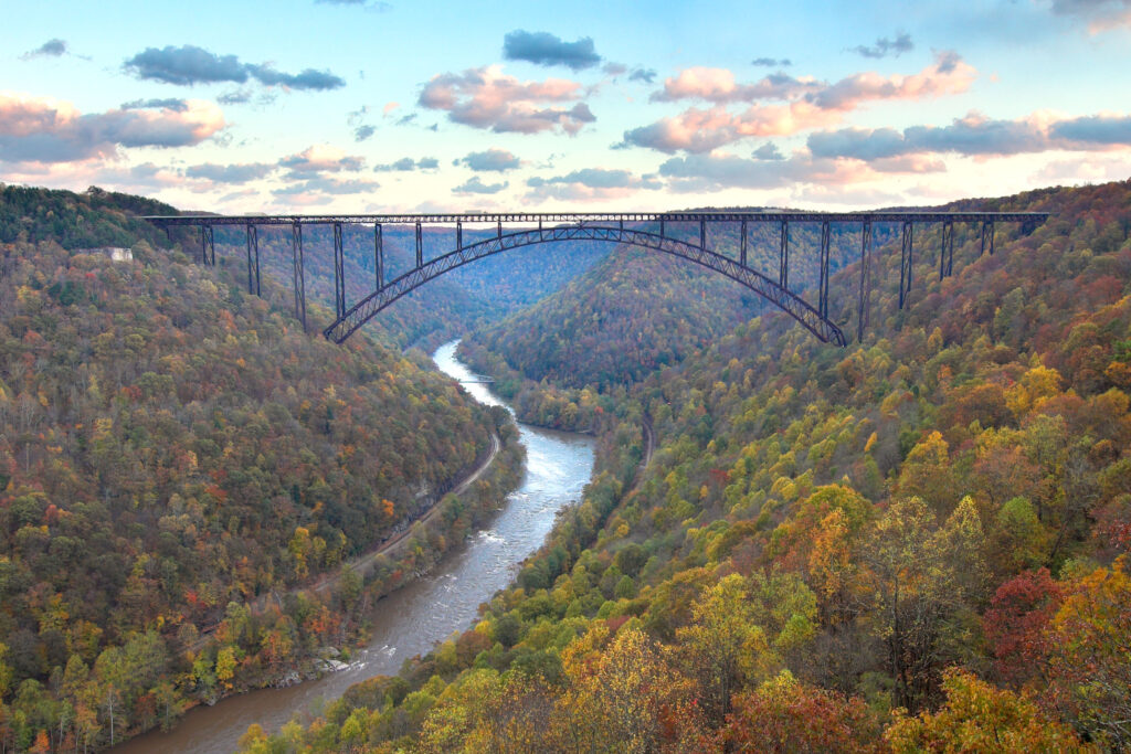 New River Gorge National Park is the newest national park in the US.