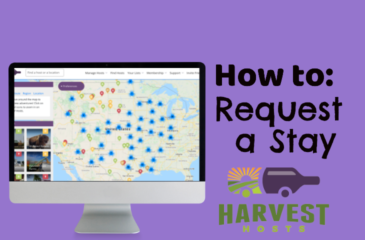 How to Request a Stay with a Harvest Hosts Location