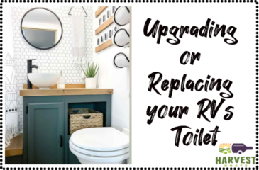 Upgrading or Replacing your RV's Toilet